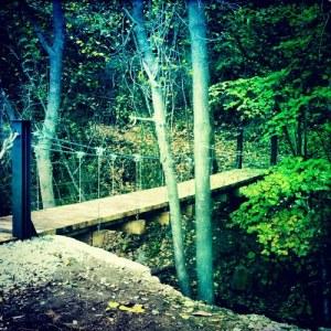 Puente colgante Canoves